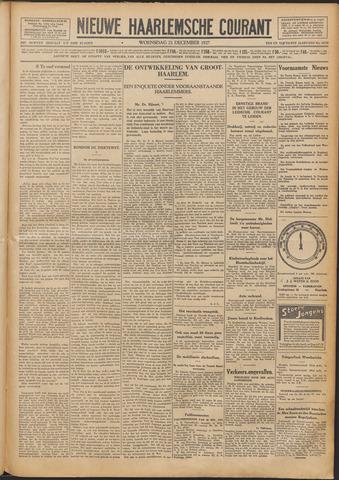 Nieuwe Haarlemsche Courant 1927-12-21