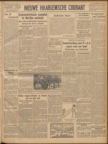 Nieuwe Haarlemsche Courant 1948-07-06