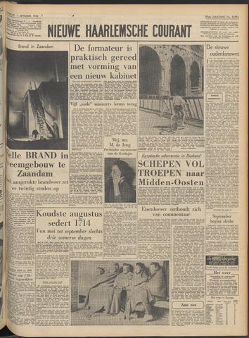 Nieuwe Haarlemsche Courant 1956-09-01