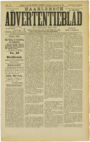 Haarlemsch Advertentieblad 1895-03-09