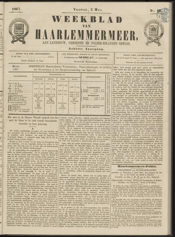 Weekblad van Haarlemmermeer 1867-05-03