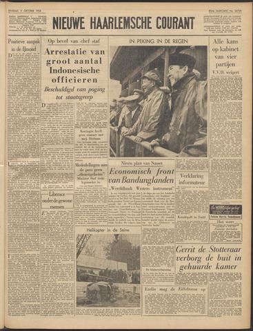 Nieuwe Haarlemsche Courant 1956-10-09