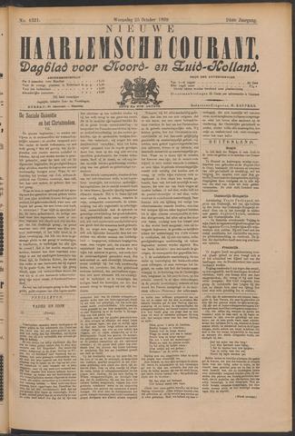 Nieuwe Haarlemsche Courant 1899-10-25