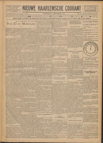 Nieuwe Haarlemsche Courant 1929-09-04