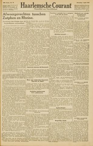 Haarlemsche Courant 1945-04-04