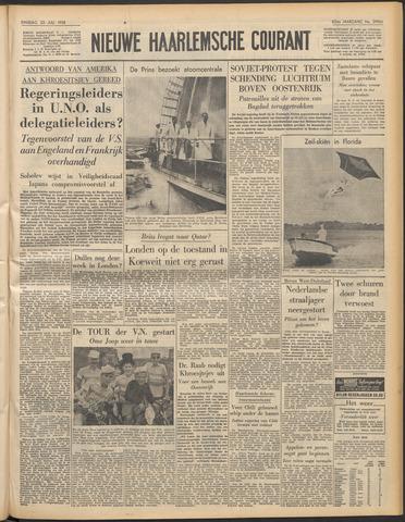 Nieuwe Haarlemsche Courant 1958-07-22