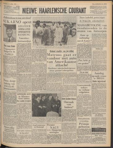 Nieuwe Haarlemsche Courant 1955-04-18