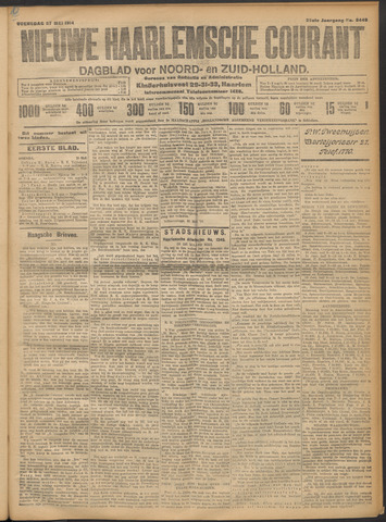 Nieuwe Haarlemsche Courant 1914-05-27
