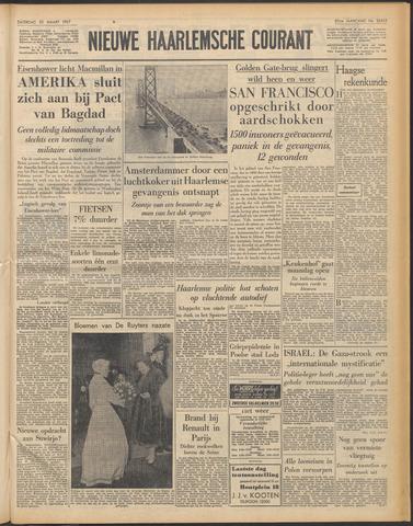 Nieuwe Haarlemsche Courant 1957-03-23