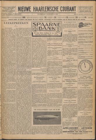 Nieuwe Haarlemsche Courant 1930-08-02