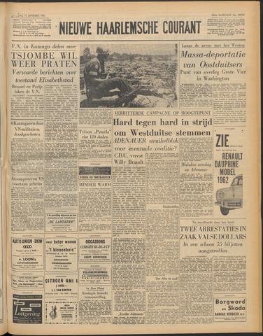 Nieuwe Haarlemsche Courant 1961-09-16
