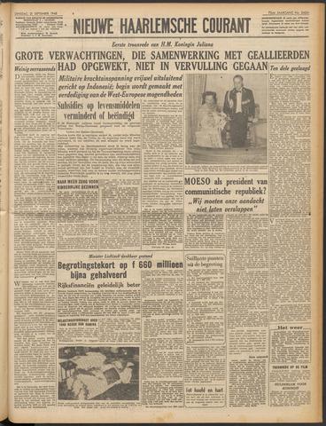 Nieuwe Haarlemsche Courant 1948-09-21