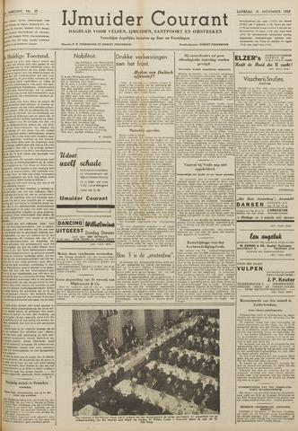 IJmuider Courant 1939-11-11