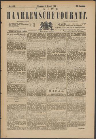 Nieuwe Haarlemsche Courant 1894-10-10