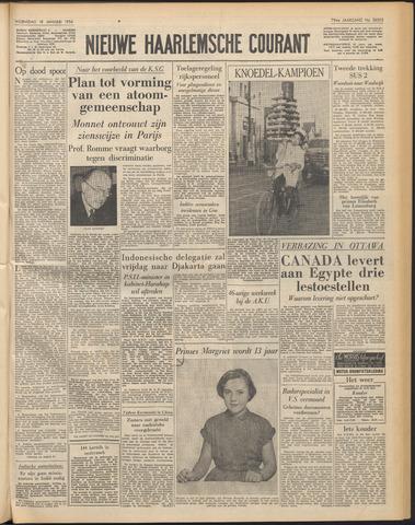 Nieuwe Haarlemsche Courant 1956-01-18