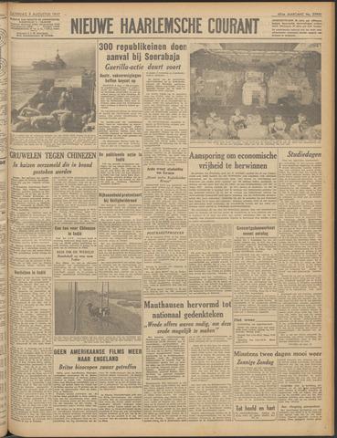Nieuwe Haarlemsche Courant 1947-08-09