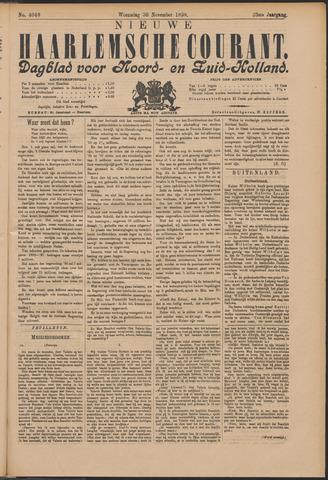 Nieuwe Haarlemsche Courant 1898-11-30