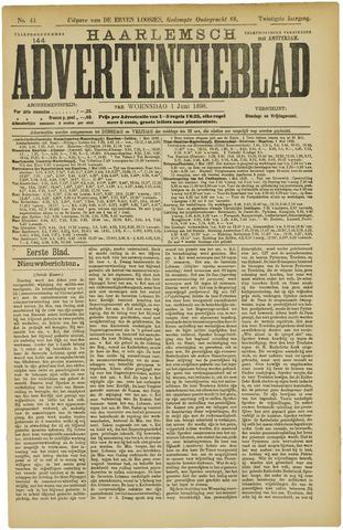 Haarlemsch Advertentieblad 1898-06-01