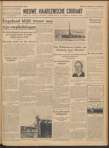 Nieuwe Haarlemsche Courant 1939-08-23