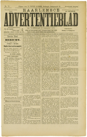 Haarlemsch Advertentieblad 1895-09-25