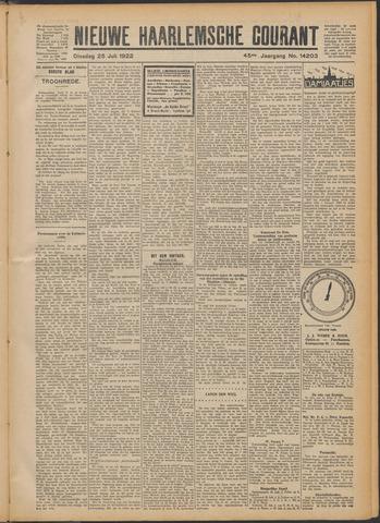 Nieuwe Haarlemsche Courant 1922-07-25