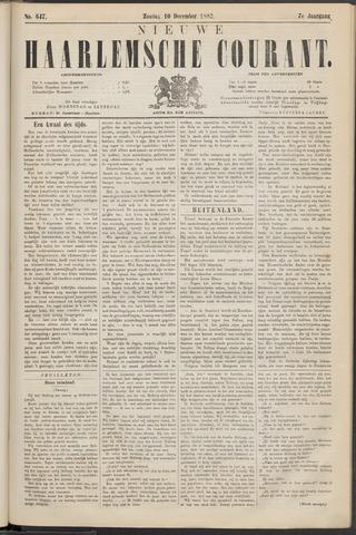 Nieuwe Haarlemsche Courant 1882-12-10