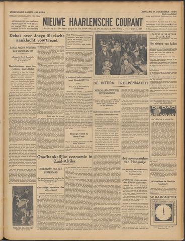 Nieuwe Haarlemsche Courant 1934-12-09