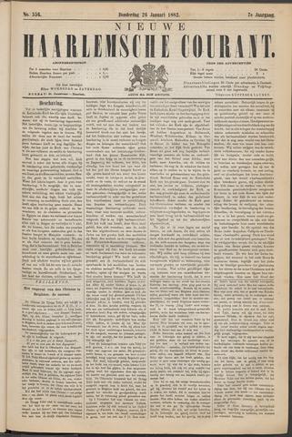 Nieuwe Haarlemsche Courant 1882-01-26