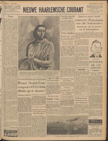 Nieuwe Haarlemsche Courant 1955-04-09