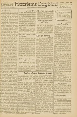 Haarlem's Dagblad 1945-08-06