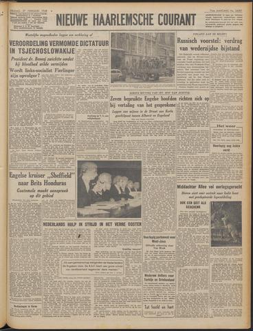 Nieuwe Haarlemsche Courant 1948-02-27