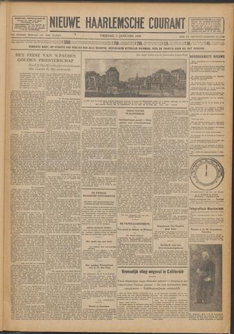 Nieuwe Haarlemsche Courant 1930-01-03
