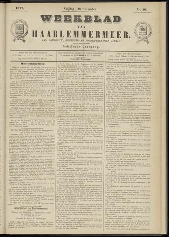 Weekblad van Haarlemmermeer 1877-11-16