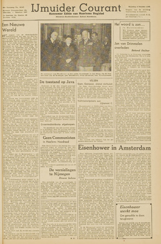 IJmuider Courant 1945-10-08