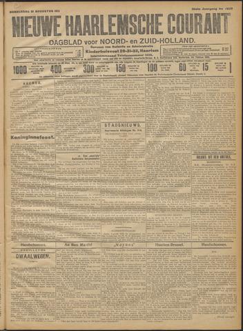 Nieuwe Haarlemsche Courant 1911-08-31