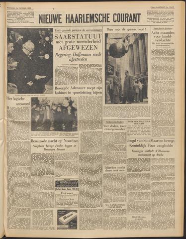 Nieuwe Haarlemsche Courant 1955-10-24