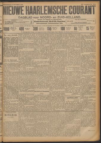 Nieuwe Haarlemsche Courant 1908-10-15