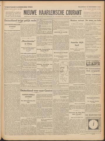 Nieuwe Haarlemsche Courant 1932-12-12