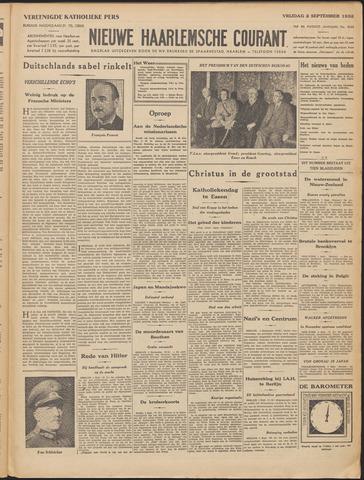 Nieuwe Haarlemsche Courant 1932-09-02