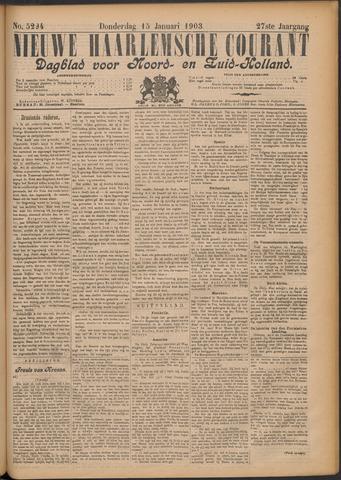Nieuwe Haarlemsche Courant 1903-01-15