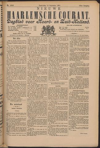 Nieuwe Haarlemsche Courant 1901-09-12