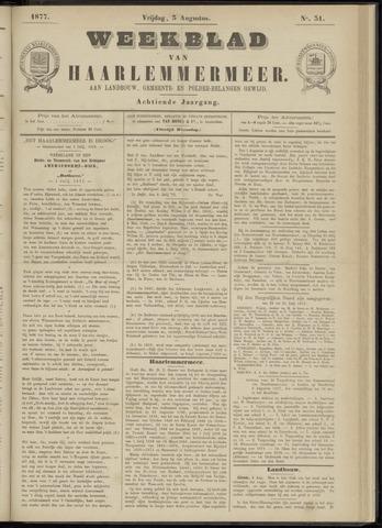 Weekblad van Haarlemmermeer 1877-08-03