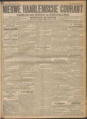 Nieuwe Haarlemsche Courant 1916-12-12