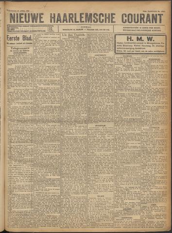Nieuwe Haarlemsche Courant 1921-04-27