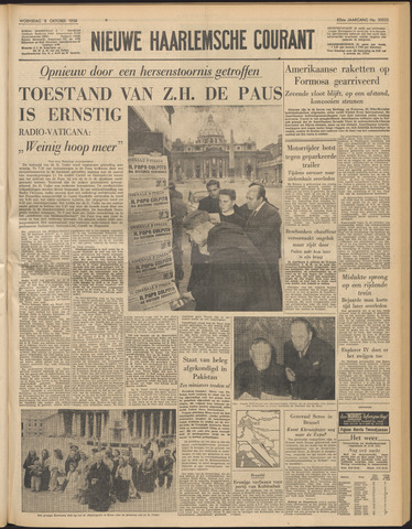 Nieuwe Haarlemsche Courant 1958-10-08
