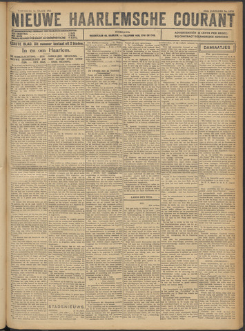 Nieuwe Haarlemsche Courant 1921-03-16