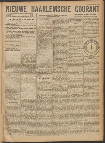 Nieuwe Haarlemsche Courant 1922-01-21