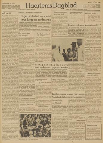 Haarlem's Dagblad 1947-06-13