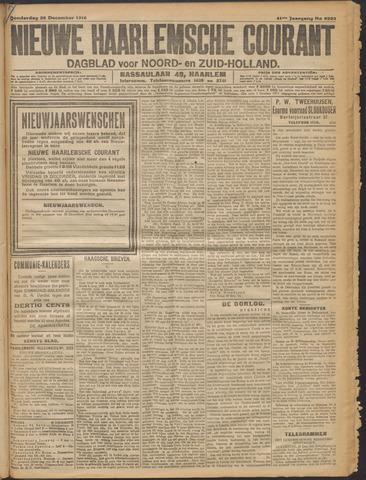 Nieuwe Haarlemsche Courant 1916-12-28
