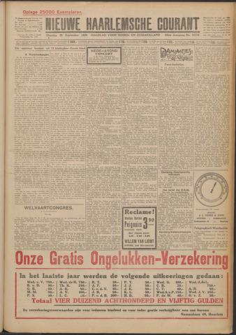 Nieuwe Haarlemsche Courant 1925-09-29